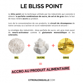 Le bliss point
